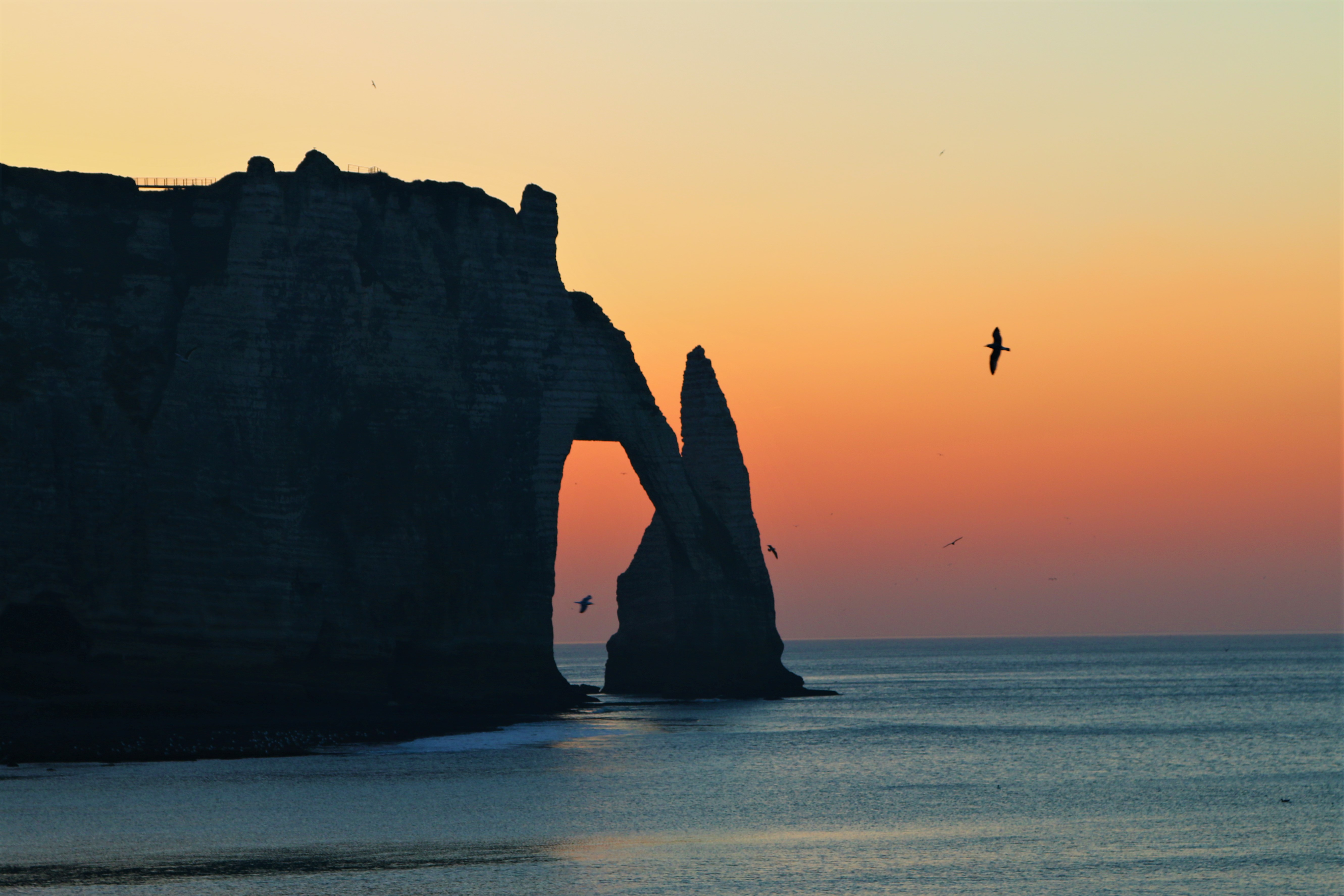 The amazing cliffs of Etretat