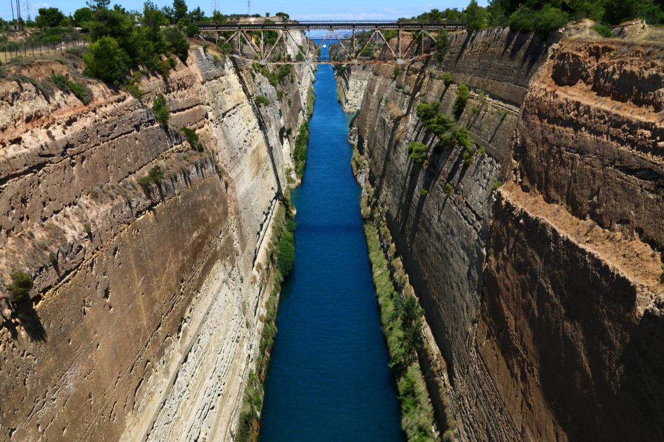Canal de Corinto - Grécia