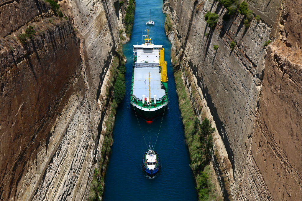 Canal of Corinth – Greece