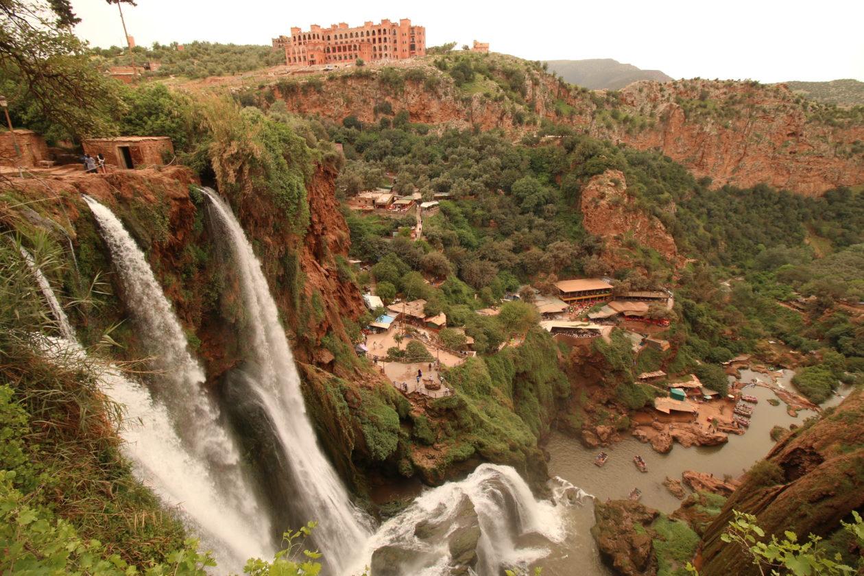 Cascatas Ouzoud, Marocos