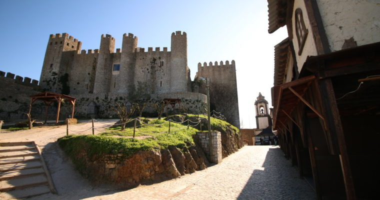 A vila medieval de Óbidos
