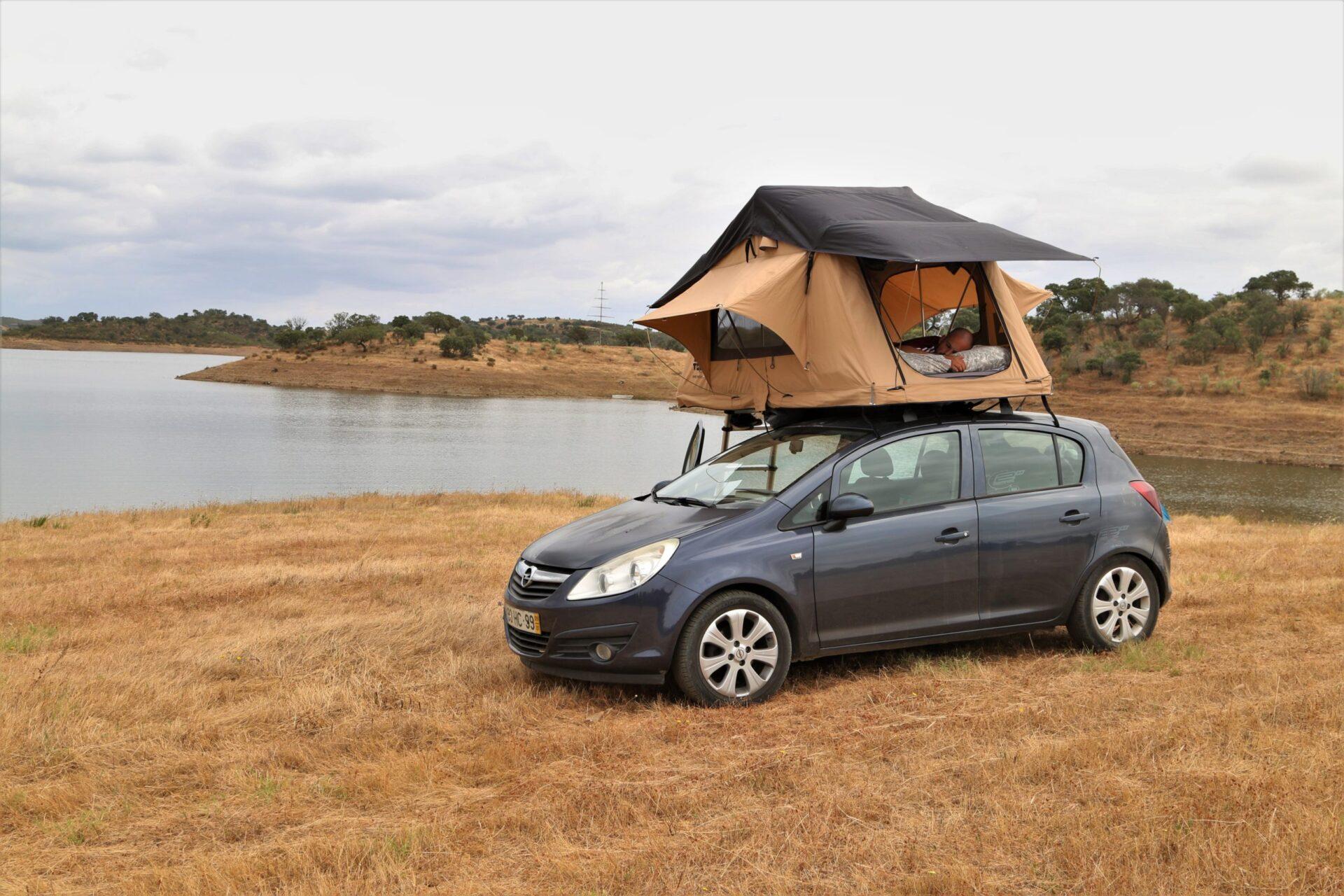 A nossa experiência em viajar com uma tenda da TOPO tents